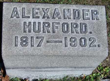 HURFORD, ALEXANDER - Stark County, Ohio | ALEXANDER HURFORD - Ohio Gravestone Photos