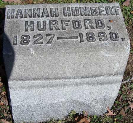 HURFORD, HANNAH HUMBERT - Stark County, Ohio   HANNAH HUMBERT HURFORD - Ohio Gravestone Photos