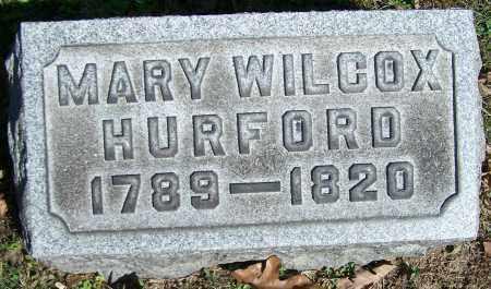 HURFORD, MARY WILCOX - Stark County, Ohio | MARY WILCOX HURFORD - Ohio Gravestone Photos
