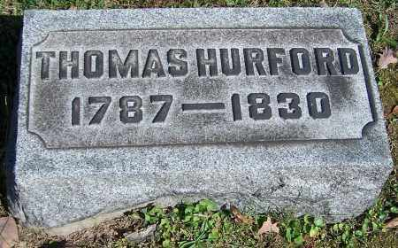 HURFORD, THOMAS - Stark County, Ohio   THOMAS HURFORD - Ohio Gravestone Photos