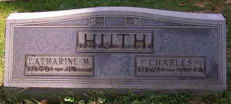 HUTH, CATHARINE M. - Stark County, Ohio | CATHARINE M. HUTH - Ohio Gravestone Photos