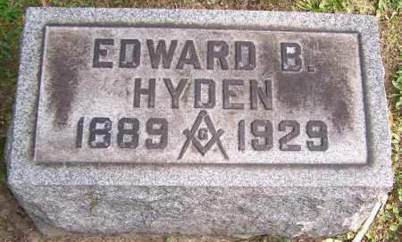 HYDEN, EDWARD B. - Stark County, Ohio | EDWARD B. HYDEN - Ohio Gravestone Photos