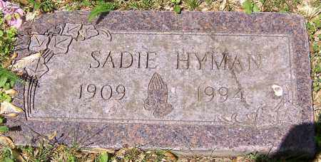 HYMAN, SADIE - Stark County, Ohio | SADIE HYMAN - Ohio Gravestone Photos