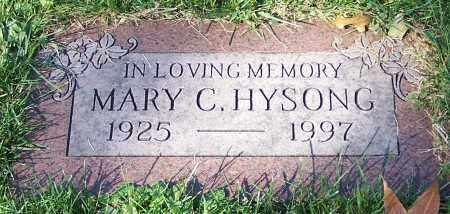 HYSONG, MARY C. - Stark County, Ohio | MARY C. HYSONG - Ohio Gravestone Photos