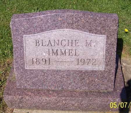 IMMEL, BLANCHE M. - Stark County, Ohio   BLANCHE M. IMMEL - Ohio Gravestone Photos