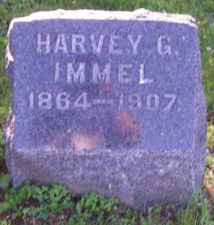 IMMEL, HARVEY G. - Stark County, Ohio | HARVEY G. IMMEL - Ohio Gravestone Photos