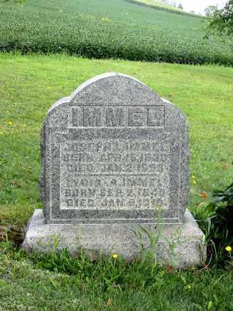 IMMEL, JOSEPH L - Stark County, Ohio   JOSEPH L IMMEL - Ohio Gravestone Photos
