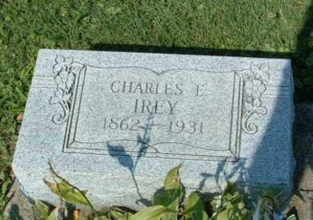 IREY, CHARLES E. - Stark County, Ohio   CHARLES E. IREY - Ohio Gravestone Photos