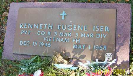 ISER, KENNETH EUGENE - Stark County, Ohio | KENNETH EUGENE ISER - Ohio Gravestone Photos