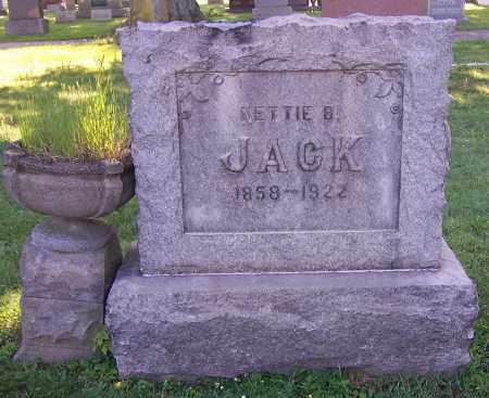 JACK, NETTIE B. - Stark County, Ohio | NETTIE B. JACK - Ohio Gravestone Photos