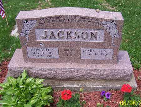 JACKSON, MARY ALICE - Stark County, Ohio | MARY ALICE JACKSON - Ohio Gravestone Photos
