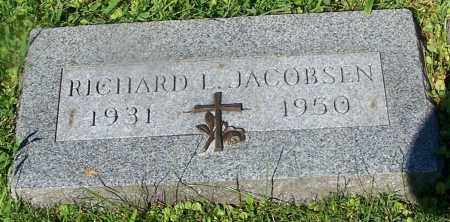 JACOBSEN, RICHARD L. - Stark County, Ohio   RICHARD L. JACOBSEN - Ohio Gravestone Photos