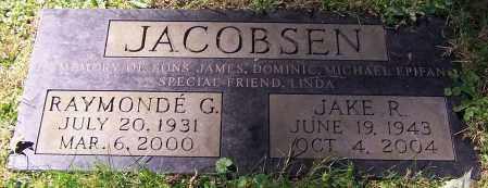 JACOBSEN, JAKE R. - Stark County, Ohio | JAKE R. JACOBSEN - Ohio Gravestone Photos