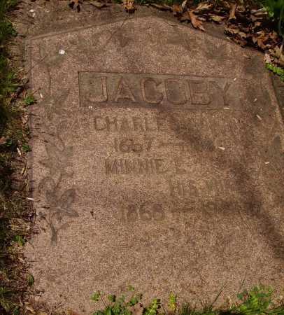 JACOBY, MINNIE E. - ORIGINAL STONE - Stark County, Ohio | MINNIE E. - ORIGINAL STONE JACOBY - Ohio Gravestone Photos