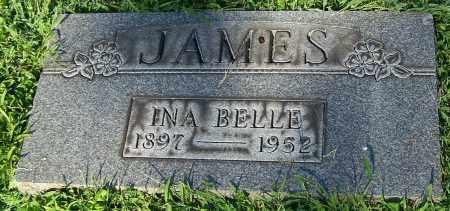 JAMES, INA BELLE - Stark County, Ohio | INA BELLE JAMES - Ohio Gravestone Photos