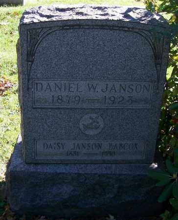 JANSON, DAISY - Stark County, Ohio | DAISY JANSON - Ohio Gravestone Photos