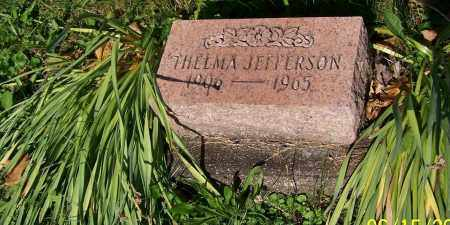JEFFERSON, THELMA - Stark County, Ohio | THELMA JEFFERSON - Ohio Gravestone Photos