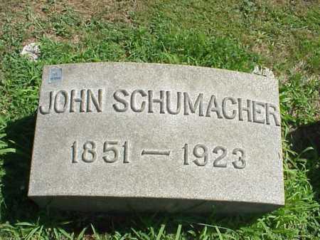 SCHUMACHER, JOHN - Stark County, Ohio | JOHN SCHUMACHER - Ohio Gravestone Photos