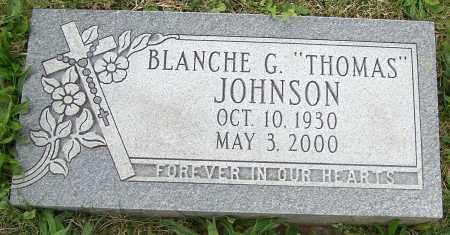 "JOHNSON, BLANCHE G. ""THOMAS"" - Stark County, Ohio   BLANCHE G. ""THOMAS"" JOHNSON - Ohio Gravestone Photos"