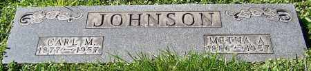 JOHNSON, CARL M. - Stark County, Ohio | CARL M. JOHNSON - Ohio Gravestone Photos