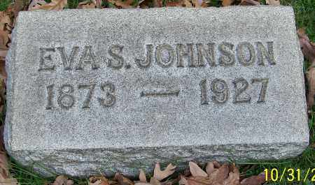 JOHNSON, EVA S. - Stark County, Ohio   EVA S. JOHNSON - Ohio Gravestone Photos