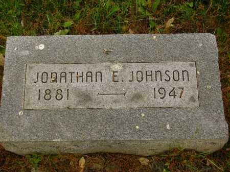 JOHNSON, JONATHAN E. - Stark County, Ohio | JONATHAN E. JOHNSON - Ohio Gravestone Photos