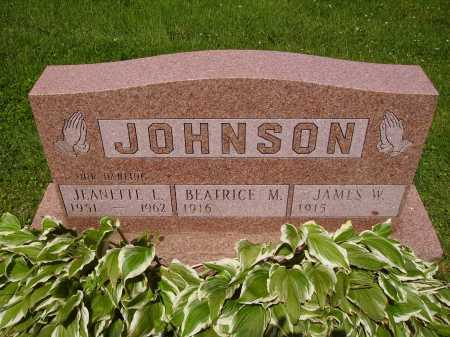 JOHNSON, JEANETTE L. - Stark County, Ohio | JEANETTE L. JOHNSON - Ohio Gravestone Photos