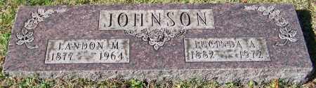 JOHNSON, LUCINDA A. - Stark County, Ohio | LUCINDA A. JOHNSON - Ohio Gravestone Photos
