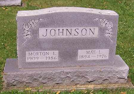 JOHNSON, MORTON L. - Stark County, Ohio   MORTON L. JOHNSON - Ohio Gravestone Photos