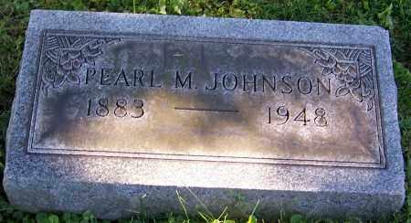 JOHNSON, PEARL M. - Stark County, Ohio   PEARL M. JOHNSON - Ohio Gravestone Photos
