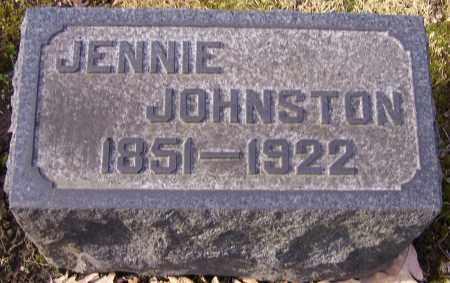 JOHNSTON, JENNIE - Stark County, Ohio | JENNIE JOHNSTON - Ohio Gravestone Photos