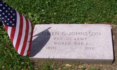 JOHNSTON, OWEN G. - Stark County, Ohio | OWEN G. JOHNSTON - Ohio Gravestone Photos