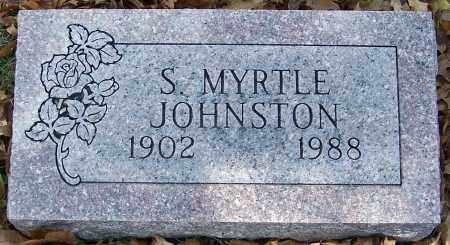JOHNSTON, S.MYRTLE - Stark County, Ohio | S.MYRTLE JOHNSTON - Ohio Gravestone Photos