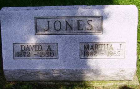JONES, MARTHA J. - Stark County, Ohio   MARTHA J. JONES - Ohio Gravestone Photos