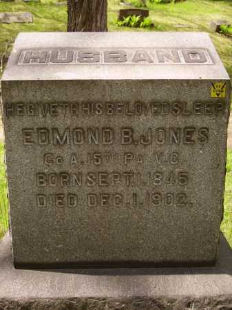 JONES, EDMOND B. - Stark County, Ohio   EDMOND B. JONES - Ohio Gravestone Photos