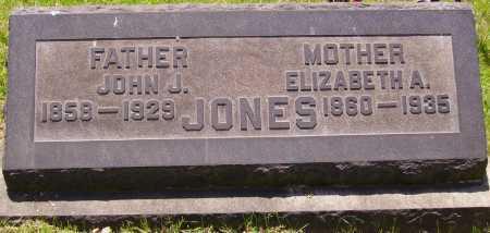 JONES, JOHN J. - Stark County, Ohio | JOHN J. JONES - Ohio Gravestone Photos