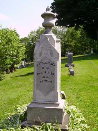 JONES, MATILDA - Stark County, Ohio | MATILDA JONES - Ohio Gravestone Photos