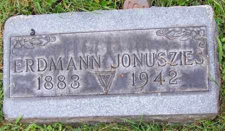 JONUSZIES, ERDMANN - Stark County, Ohio | ERDMANN JONUSZIES - Ohio Gravestone Photos