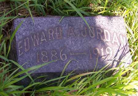 JORDAN, EDWARD A. - Stark County, Ohio | EDWARD A. JORDAN - Ohio Gravestone Photos