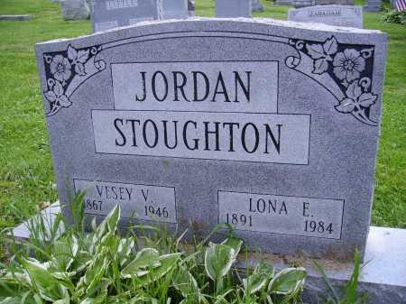 JORDAN, VESEY V. - Stark County, Ohio   VESEY V. JORDAN - Ohio Gravestone Photos