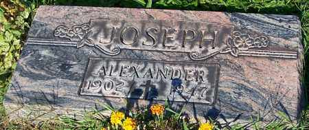 JOSEPH, ALEXANDER - Stark County, Ohio   ALEXANDER JOSEPH - Ohio Gravestone Photos