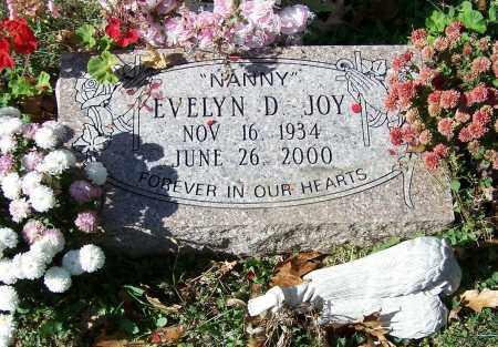 JOY, EVELYN D. - Stark County, Ohio | EVELYN D. JOY - Ohio Gravestone Photos