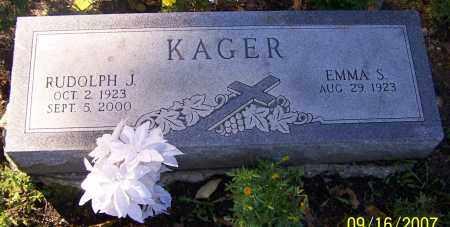 KAGER, RUDOLPH J. - Stark County, Ohio | RUDOLPH J. KAGER - Ohio Gravestone Photos