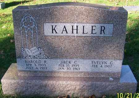 KAHLER, EVELYN G. - Stark County, Ohio | EVELYN G. KAHLER - Ohio Gravestone Photos