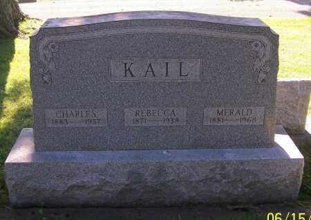 KAIL, CHARLES - Stark County, Ohio   CHARLES KAIL - Ohio Gravestone Photos