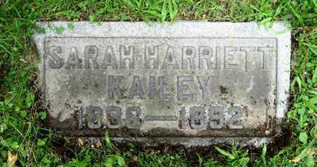 BENSKIN KAILEY, SARAH HARRIETT - Stark County, Ohio | SARAH HARRIETT BENSKIN KAILEY - Ohio Gravestone Photos