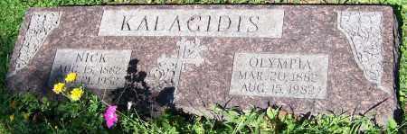 KALACIDIS, OLYMPIA - Stark County, Ohio   OLYMPIA KALACIDIS - Ohio Gravestone Photos