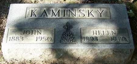 KAMINSKY, HELEN - Stark County, Ohio | HELEN KAMINSKY - Ohio Gravestone Photos