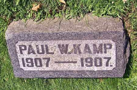 KAMP, PAUL W. - Stark County, Ohio   PAUL W. KAMP - Ohio Gravestone Photos