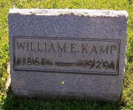 KAMP, WILLIAM E. - Stark County, Ohio | WILLIAM E. KAMP - Ohio Gravestone Photos